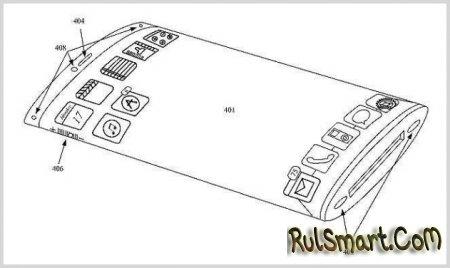 Apple iPhone 6 получит гибкий дисплей?