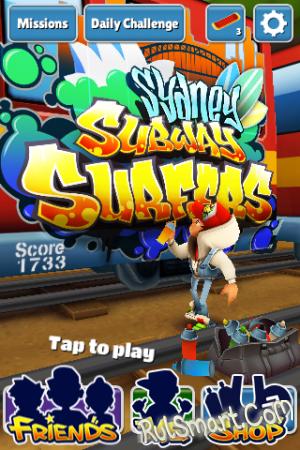Обзор игры Subway Surfers