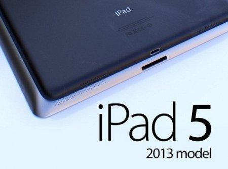 Фото передней панели iPad 5