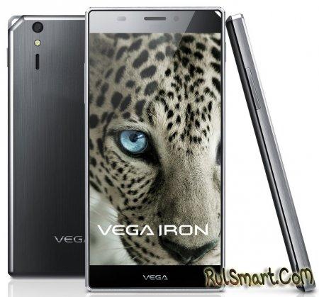 Pantech Vega Iron официально представлен
