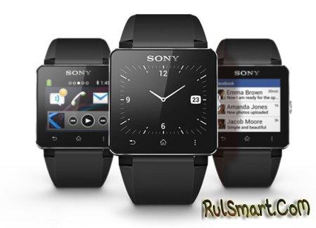 Sony представила «умные» часы SmartWatch 2