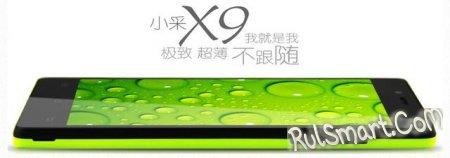 Xiaocai X9: 4-ядерный смартфон за $145