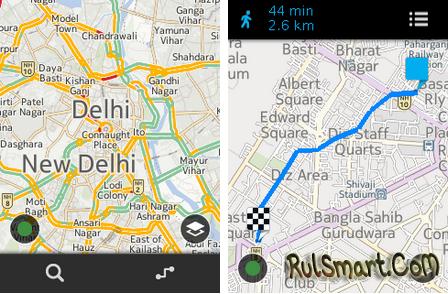 Карты Nokia HERE теперь и для Asha 501