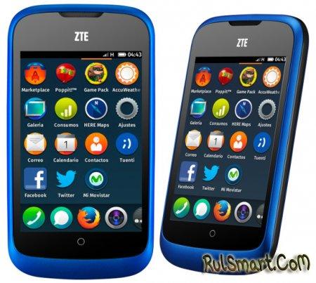 ZTE Open на Firefox OS поступил в продажу