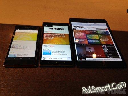 Фаблет Nokia Lumia 1520 показался на живых фото