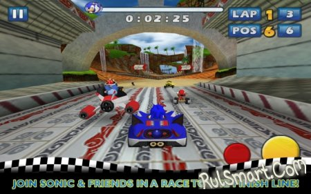 Sonic & SEGA All-Stars Racing вышла для Android