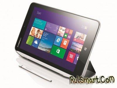 Lenovo представила 8-дюймовый планшет Miix 2