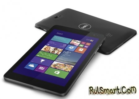 Dell анонсировала планшеты на Windows 8.1 и Android