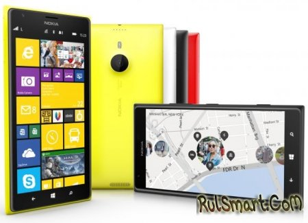 Nokia Lumia 1520 - мощный флагман от финской компании