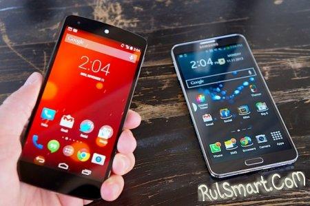 Видео-сравнение: LG Nexus 5 и Samsung GALAXY Note 3