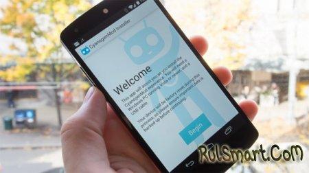 Приложение для установки CyanogenMod удалено из Google Play