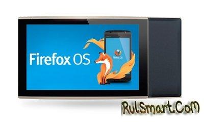 New Tab F1 - первый планшет на Firefox OS