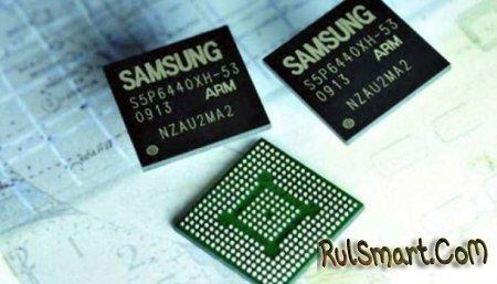 Samsung представила чипы мобильной памяти объемом 4 Гб