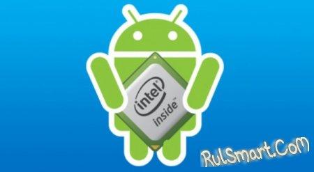 Android-планшеты с 64-битным процессором Intel Bay Trail выйдут весной