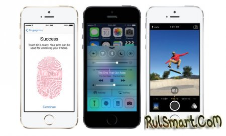 Apple исправит проблемы с Touch ID в iPhone 5s