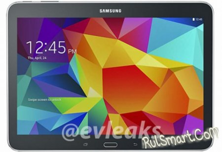 Samsung Galaxy Tab 4 10.1: рендеры и спецификации планшета