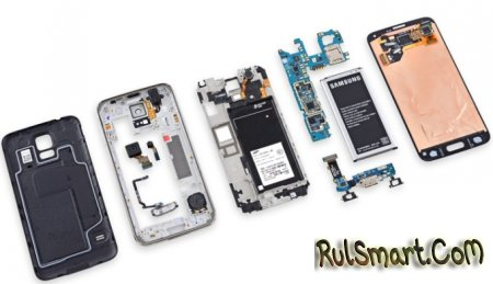 Samsung Galaxy S5: оценка ремонтопригодности