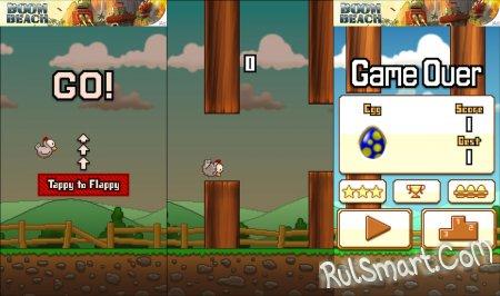 Tappy Chicken - игра по мотивам Flappy Bird на Unreal Engine 4