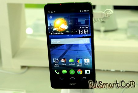 Acer Liquid X1: 5.7-дюймовый фаблет с LTE