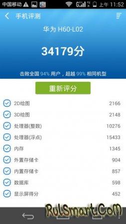 Huawei Honor 6: анонс, живые фото и тест производительности