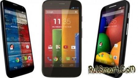 Motorola Moto X, G и E обновляются до Android 4.4.4 KitKat