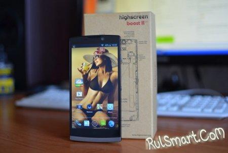 Highscreen Thor обновляется до Android 4.4 KitKat