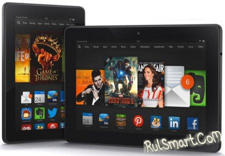 Kindle Fire HDX - планшет со Snapdragon 805