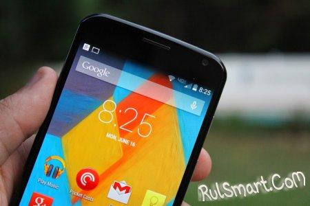 Motorola Moto X обновится на Android L