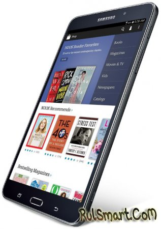 Samsung Galaxy Tab 4 Nook анонсируют 20 августа