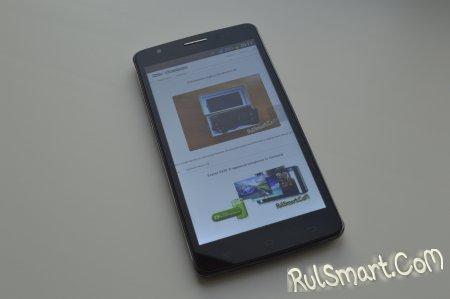 Обзор смартфона Elephone P7 Blade