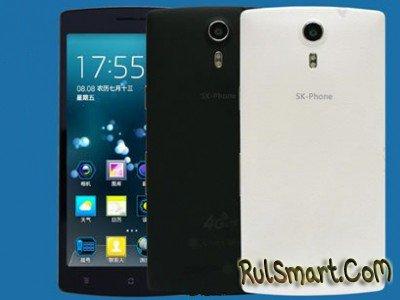 SK-Phone X4: 3 ГБ ОЗУ и LTE за $188