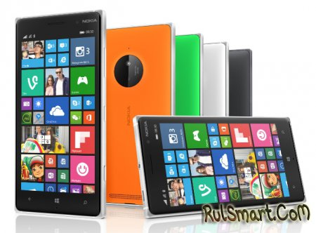 Nokia Lumia 830: середнячок с камерой PureView