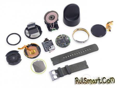 Разборка Moto 360 - умные часы на Android Wear