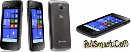 Fly IQ400W Grey - бюджетный смартфон на Windows Phone 8.1