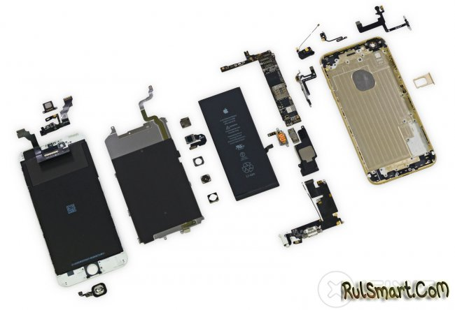 Разборка iPhone 6 и iPhone 6 Plus
