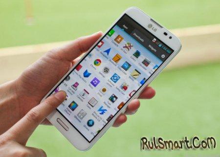 LG G Pro 3 - первый смартфон с чипсетом Odin