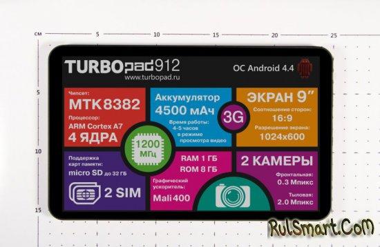 Распаковка планшета TurboPad 912