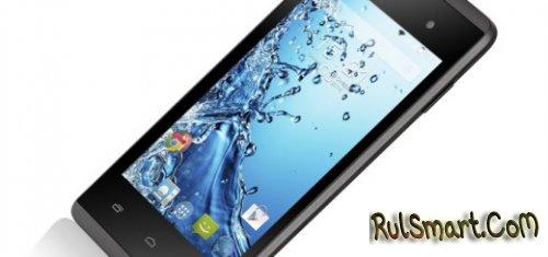 Fly Era Style 4 - бюджетный смартфон на Android 4.4