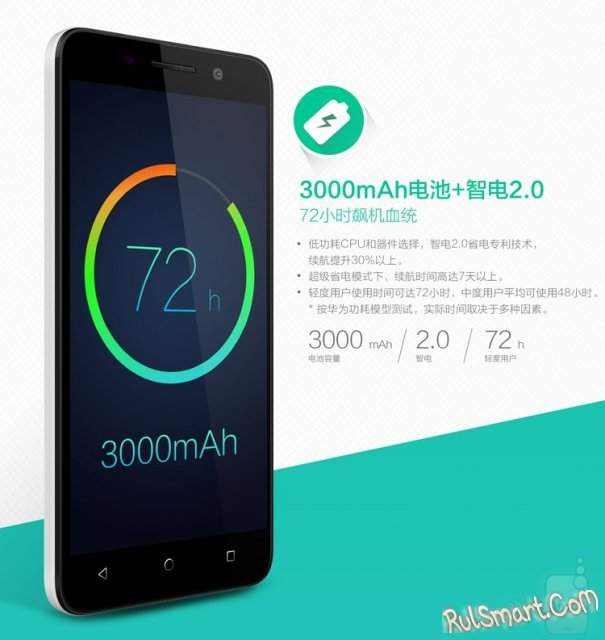 Huawei Honor 4X - бюджетный смартфон за $212