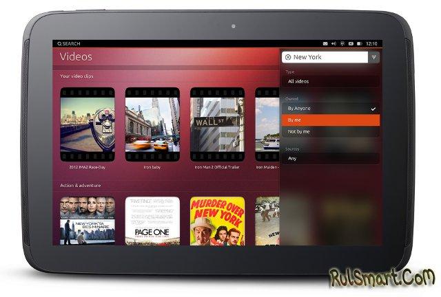 UT One - первый планшет на Ubuntu Touch