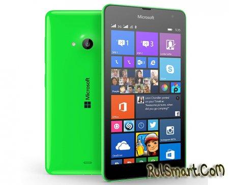 Microsoft Lumia 535: новый смартфон линейки Lumia