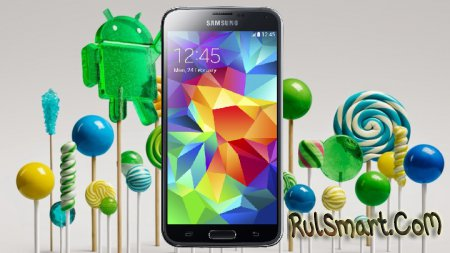 Samsung Galaxy S5 обновляется до Android 5.0 Lollipop