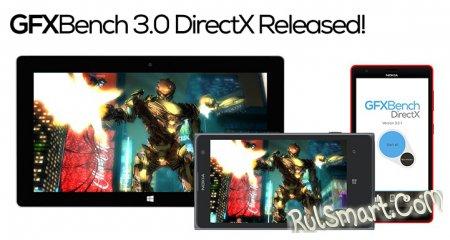Бенчмарк GFXBench 3.0 стал доступен и на Windows Phone