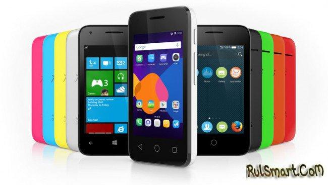 Alcatel OneTouch PIXI 3 - смартфон с поддержкой трех ОС - CES 2015