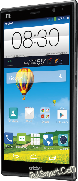 ZTE Grand X Max+: обновлённый смартпэд - CES 2015