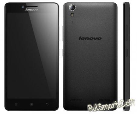 Lenovo A6000 - смартфон среднего класса - CES 2015