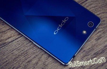 OPPO R1C - мощный смартфон в сапфировом корпусе