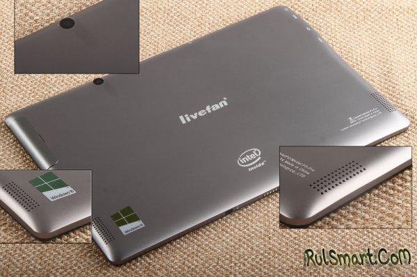 Livefan F3-Pro2: Windows 8.1, 4 ГБ ОЗУ, SSD и Intel Celeron N2930