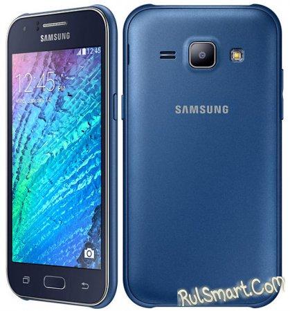 Samsung Galaxy J1 - ультрабюджетный смартфон