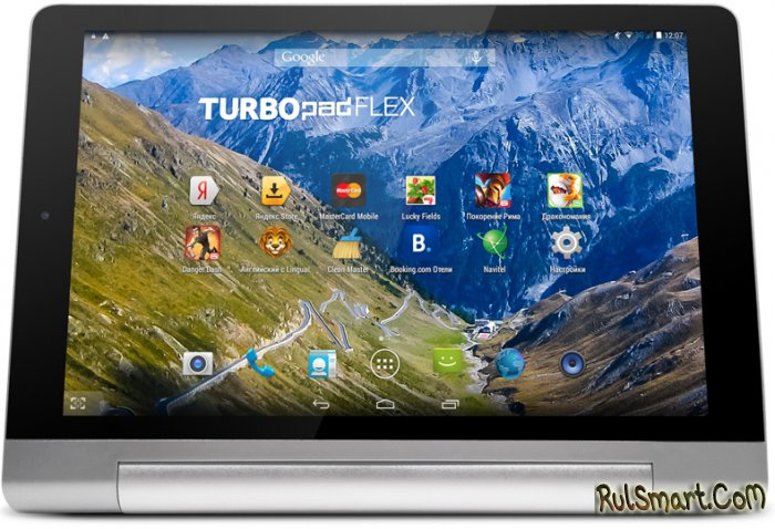 TurboPad Flex 8 - почти Lenovo Yoga Tablet 2, но с двумя SIM